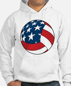 American Flag Volleyball Hoodie