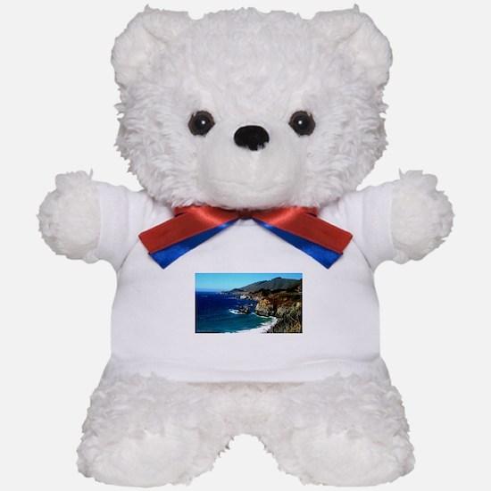 Big Sur on the Pacific Coast Teddy Bear