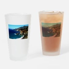 Big Sur on the Pacific Coast Drinking Glass