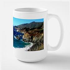 Big Sur on the Pacific Coast Large Mug