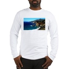 Big Sur on the Pacific Coast Long Sleeve T-Shirt