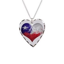 Chilean heart Necklace