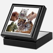 big cats Keepsake Box