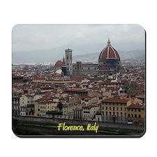 Florence Cityscape Mousepad