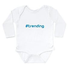 #trending Long Sleeve Infant Bodysuit