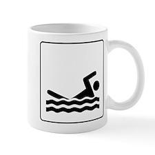Swimming Icon Mug