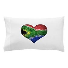 South African heart Pillow Case
