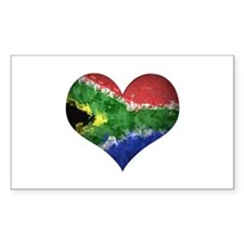 South African heart Decal