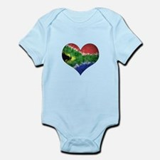 South African heart Onesie