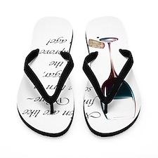 Men are like fine Wine Flip Flops