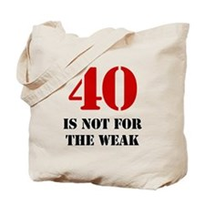 40th Birthday Gag Gift Tote Bag