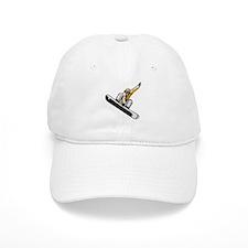 Extreme Snowboarder Baseball Cap