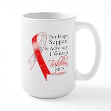 Hope Support MDS Ribbon Mug