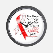 Hope Support MDS Ribbon Wall Clock