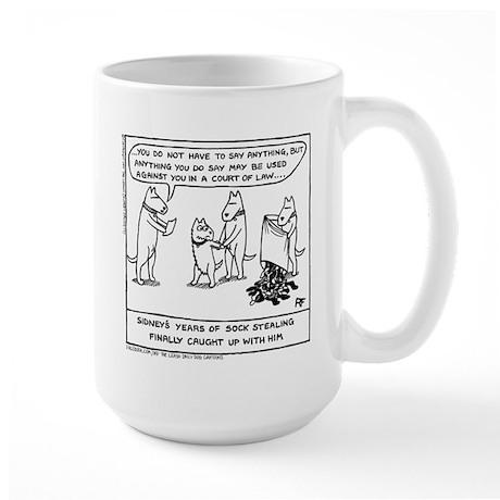 The Dawn Raid - Large Mug