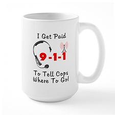 9-1-1 Dispatcher Mug