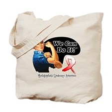 We Can Do It MDS Awareness Tote Bag