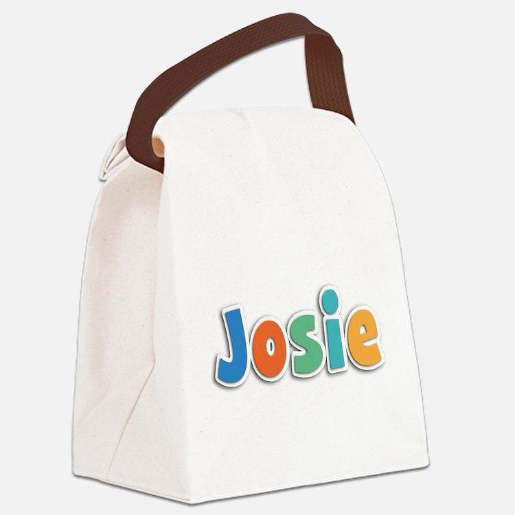 Josie Spring11B Canvas Lunch Bag