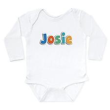 Josie Spring11B Long Sleeve Infant Bodysuit