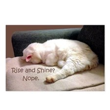 Rise And Shine? Nope. Postcards (Package of 8)