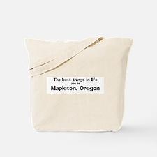 Mapleton: Best Things Tote Bag