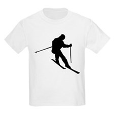 Downhill Skier T-Shirt