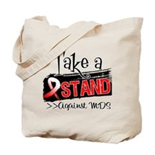 Take a Stand Against MDS Tote Bag