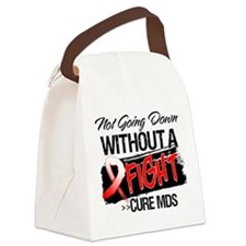 Not Going Down MDS Canvas Lunch Bag