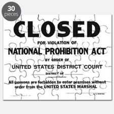 Prohibition Sign Puzzle