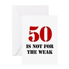 50th Birthday Gag Gift Greeting Card