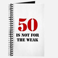 50th Birthday Gag Gift Journal