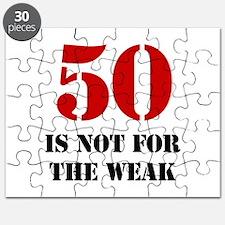 50th Birthday Gag Gift Puzzle