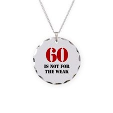 60th Birthday Gag Gift Necklace
