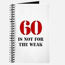 60th Birthday Gag Gift Journal