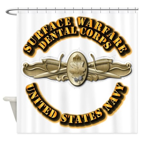 Navy - Surface Warfare - DC Shower Curtain