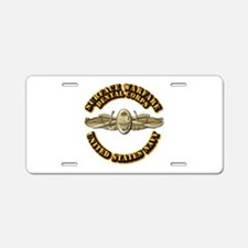 Navy - Surface Warfare - DC Aluminum License Plate