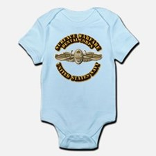 Navy - Surface Warfare - DC Infant Bodysuit