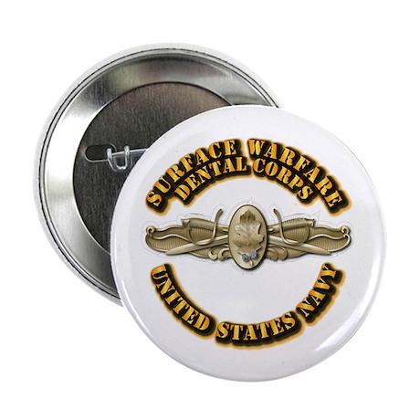 "Navy - Surface Warfare - DC 2.25"" Button (100 pack"