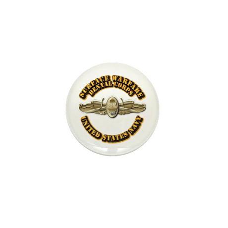 Navy - Surface Warfare - DC Mini Button