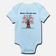 Whooos The New One? Infant Bodysuit