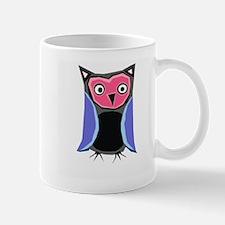 pink & blue owl Mug