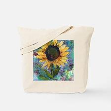 Sunflower Sunday Art Tote Bag