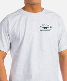 Amelia Island - Alligator Design. T-Shirt