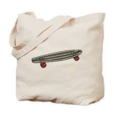 Skateboard Tote Bag