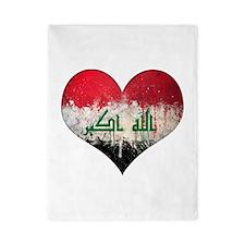 Iraqi heart Twin Duvet