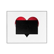 Iraqi heart Picture Frame