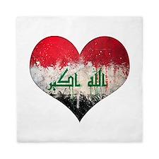 Iraqi heart Queen Duvet
