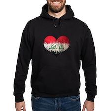Iraqi heart Hoody