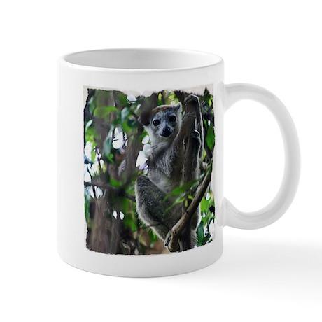 Madagascar Snapshots: Crowned Lemur Mug