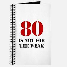 80th Birthday Gag Gift Journal